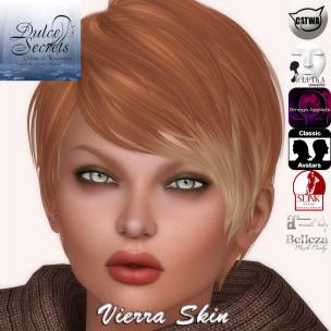 Vierra Skin Vendor Display