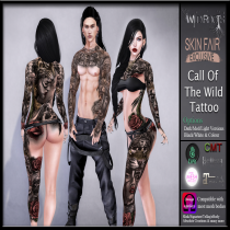 WR - Call Of The Wild Tattoo Skin Fair