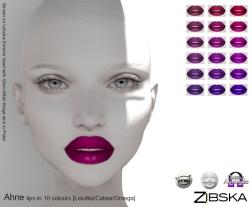 Zibska for Skin Fair 2018 ~ Ahne Lips