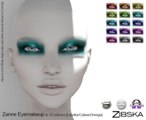 Zibska for Skin Fair 2018 ~ Zanne Eyemakeup