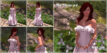 [Black Tulip] Poses - The Dress #4 (2_1 ad)