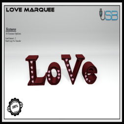 [USB] - Love Marquee AD
