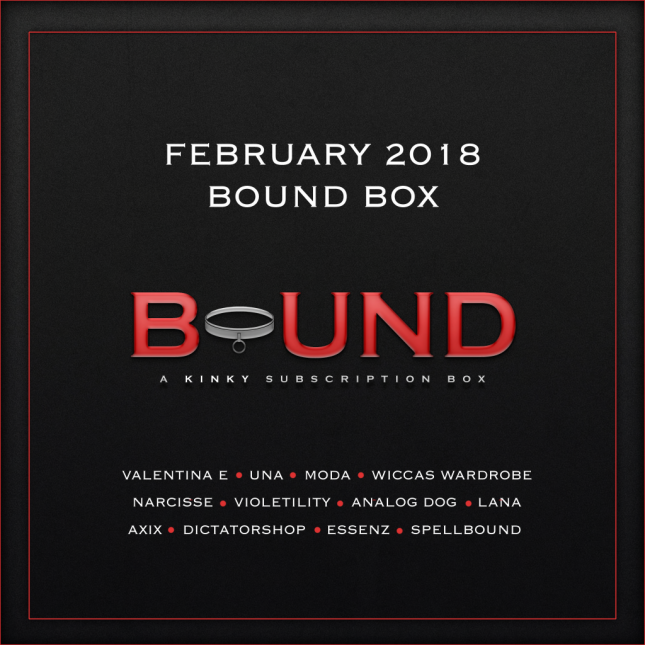 FEB VENDOR BOUND BOX