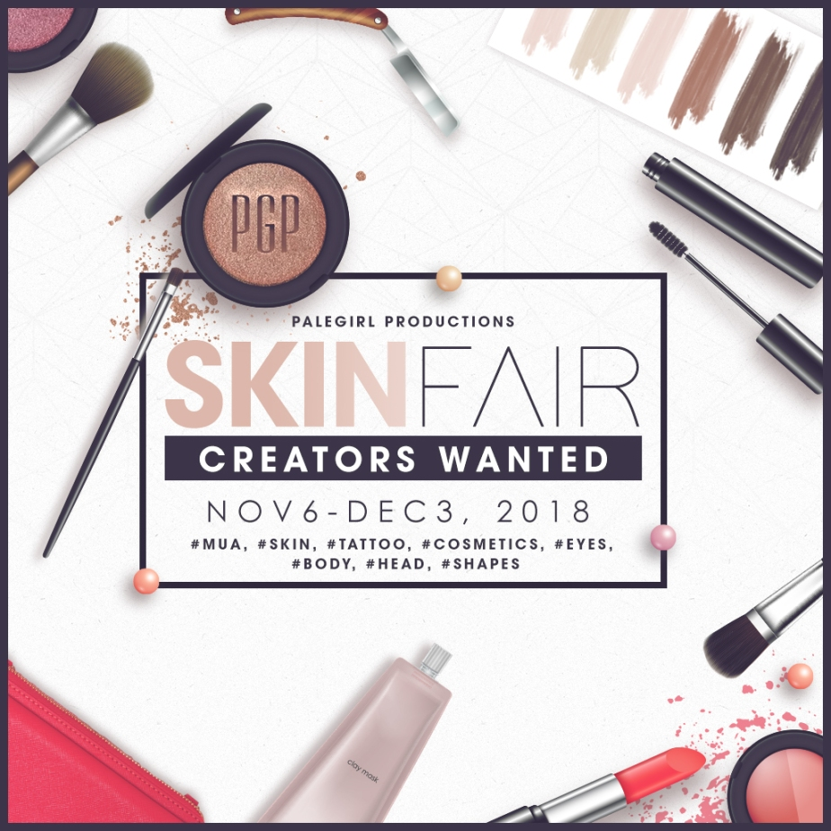 Skin Fair 2019 Designer Applications!