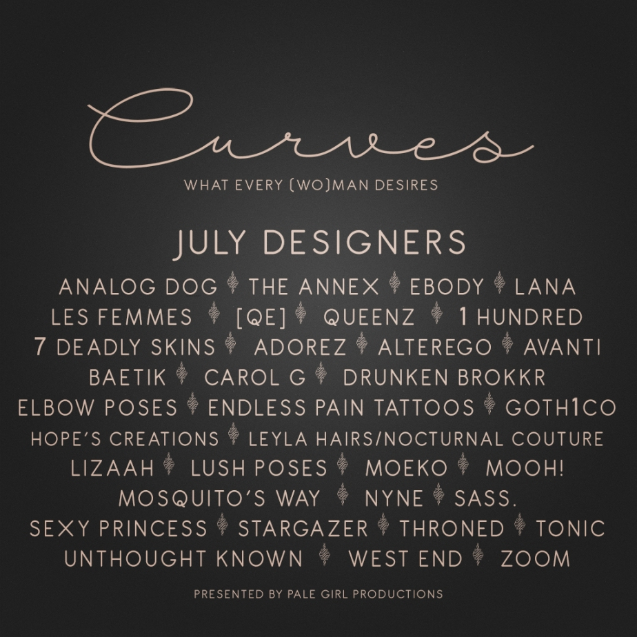 Curves July – Last Chance!