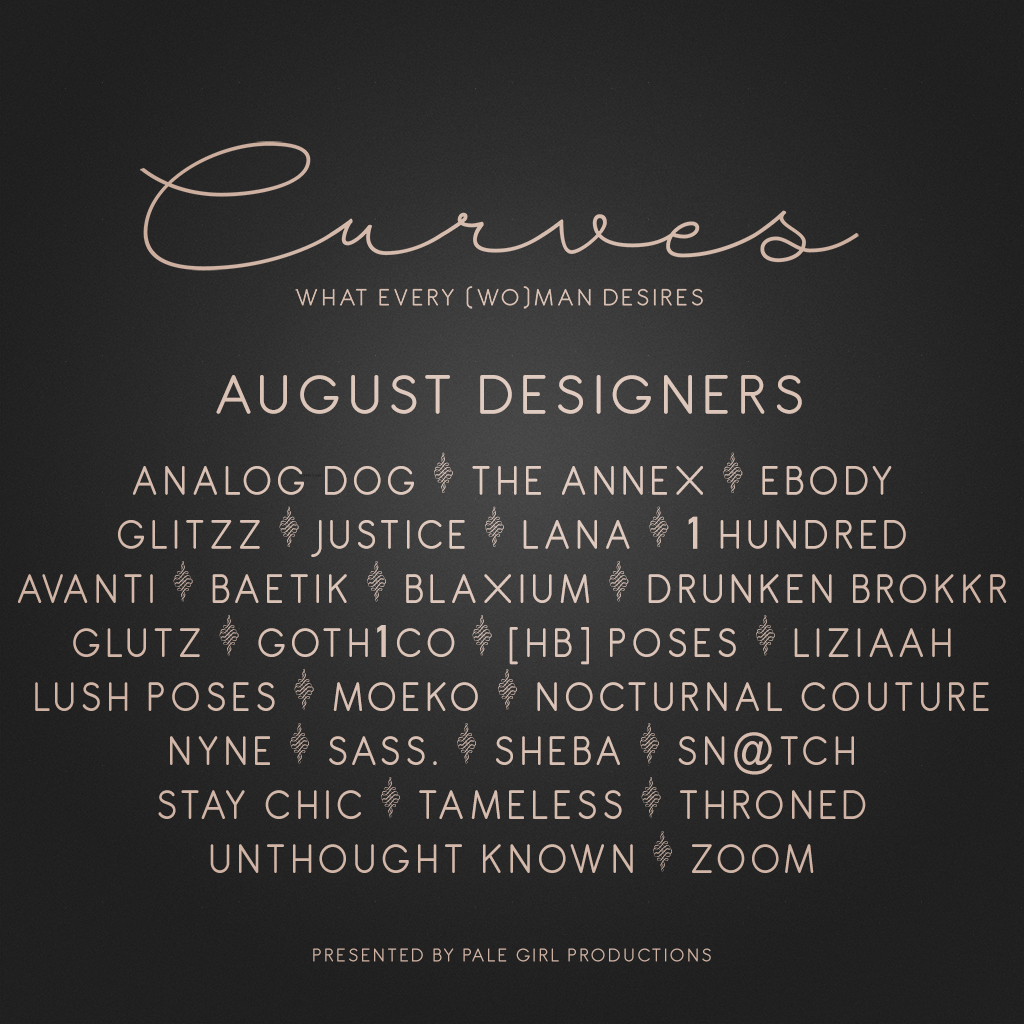 Curves – August is Open!