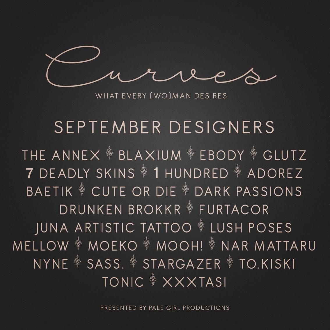 Curves – September isOPEN!