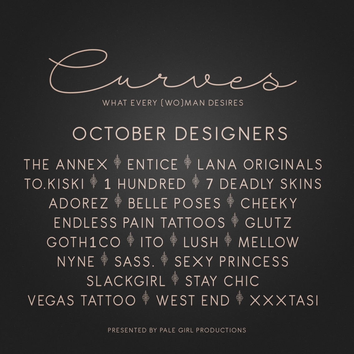 Curves – October is OPEN!