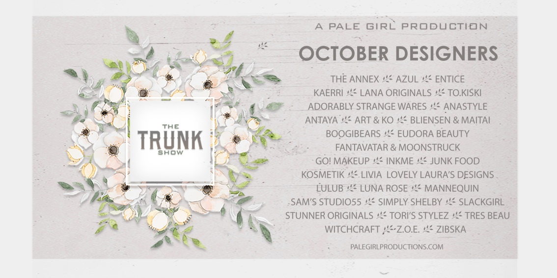 The Trunk Show – October!