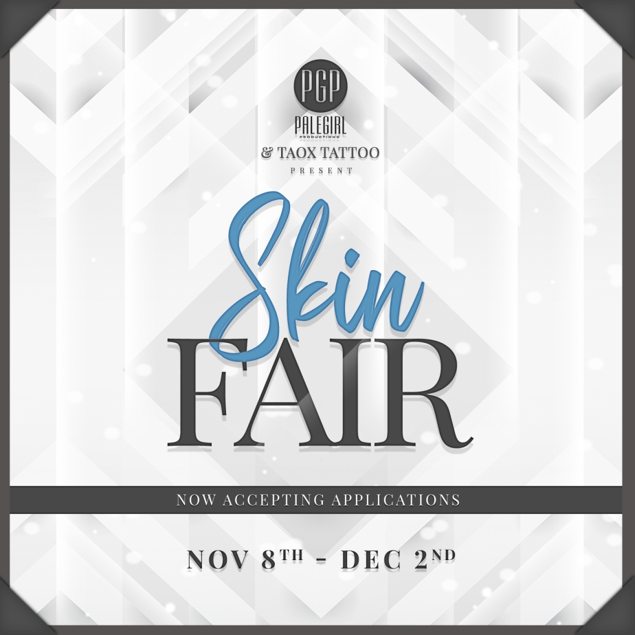 Skin Fair 2020 Designer Applications
