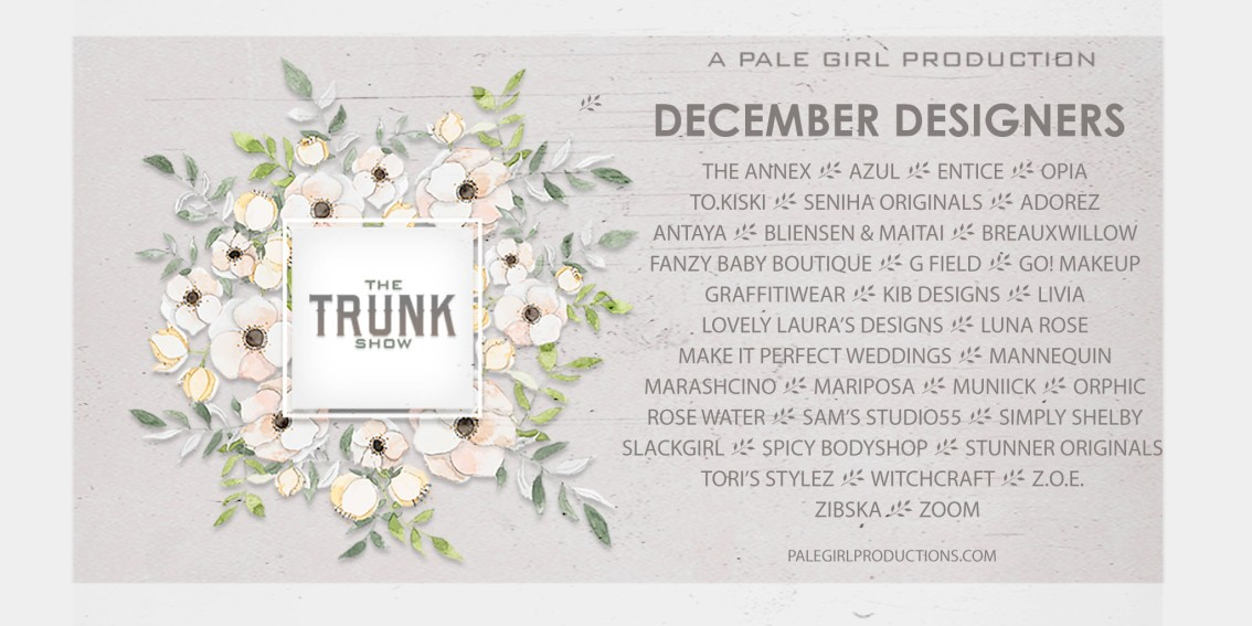 The Trunk Show December – Now Open!