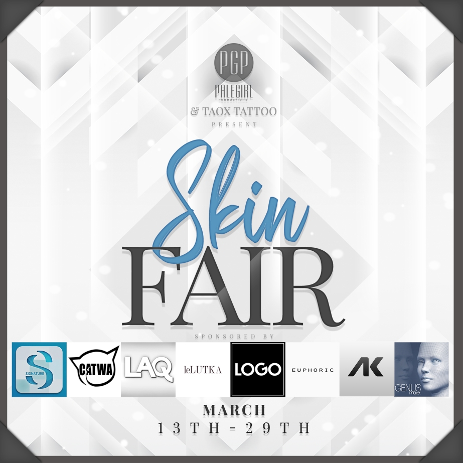 Skin Fair Poster with Sponsors