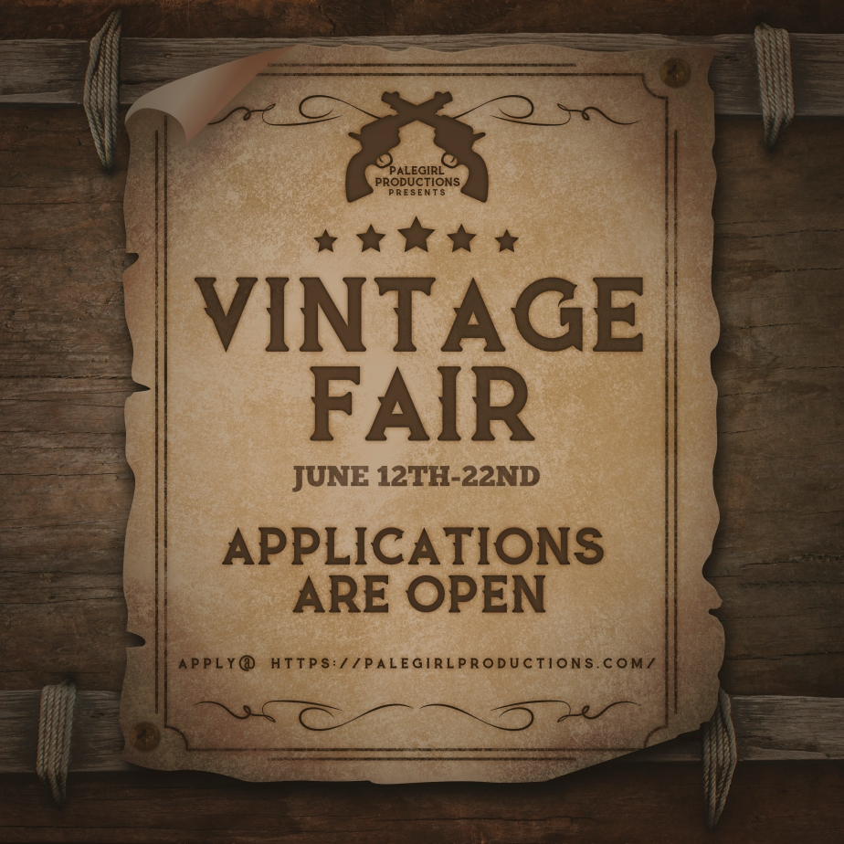 Vintage Fair 2020- Designer Application