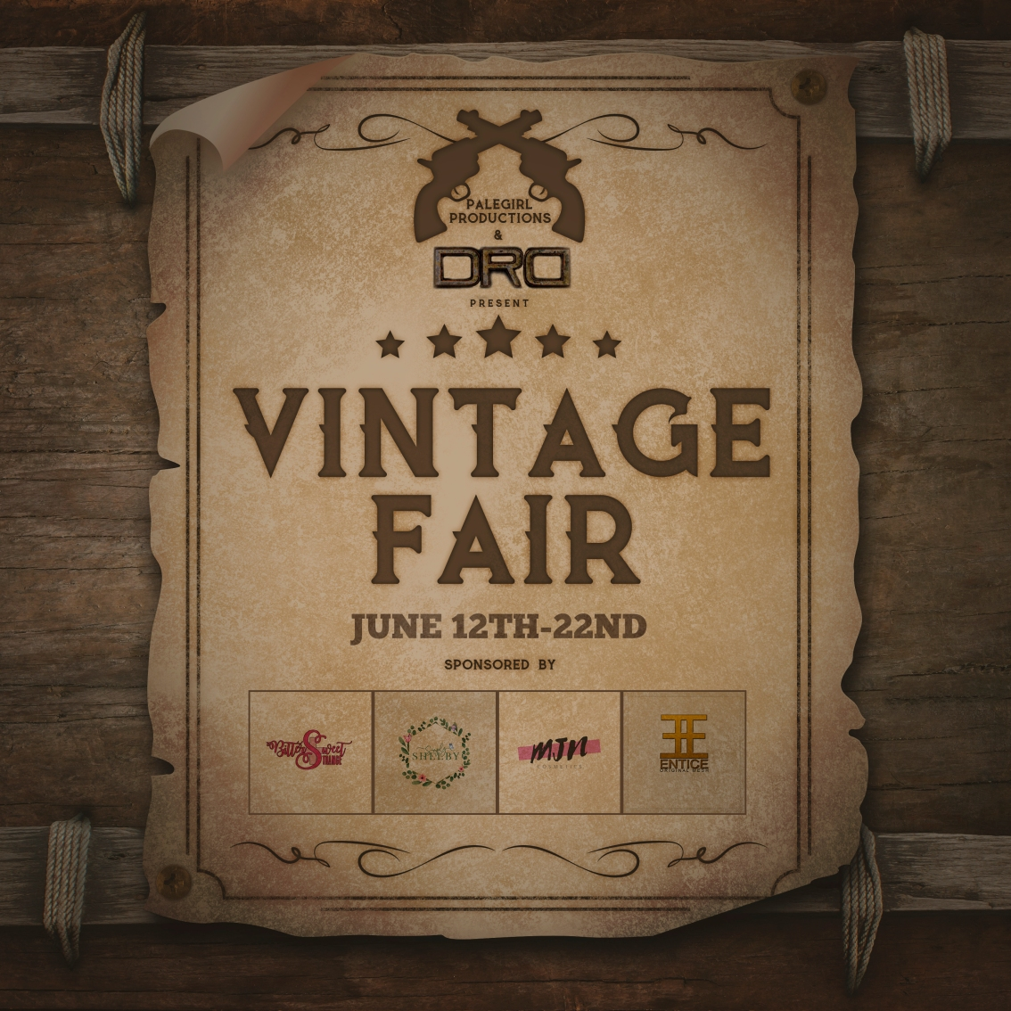 Last Day For Vintage Fair 2020!