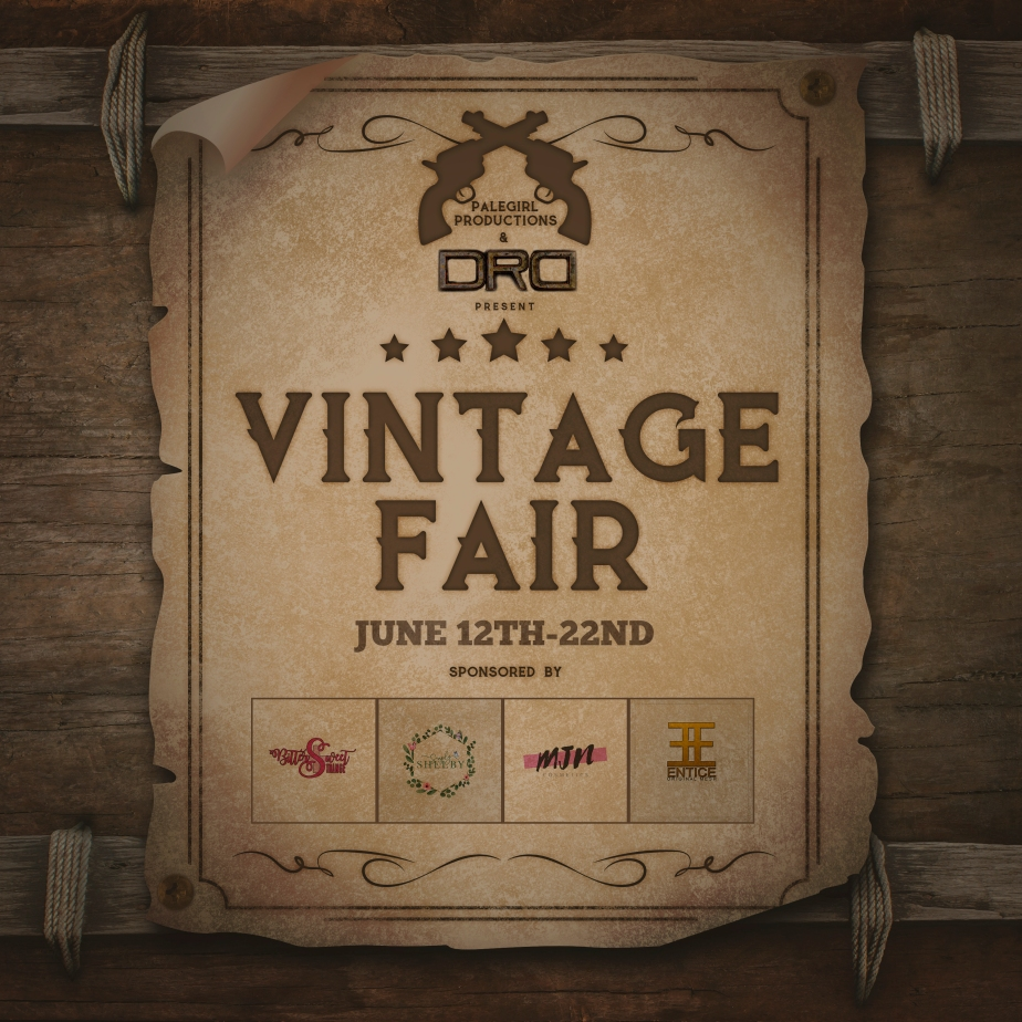 Vintage Fair 2020 Is Now Open!!!