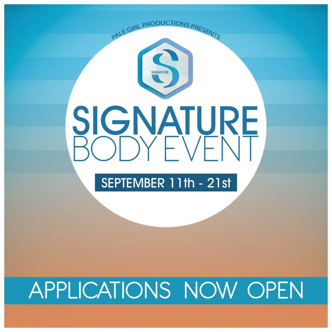 Applications Are Now Open For The Signature Event