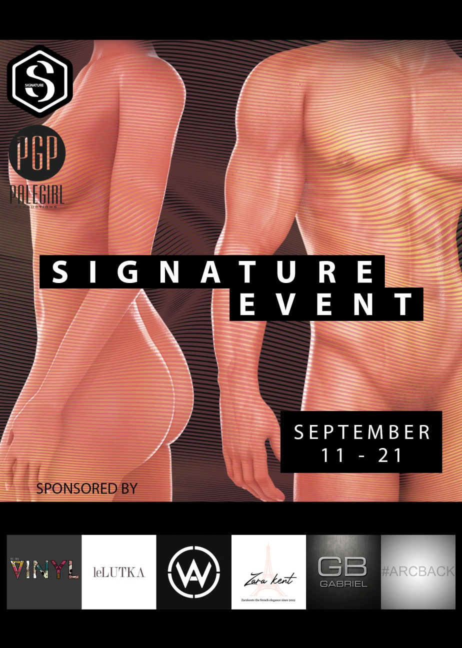 Last Weekend For Signature Event!!