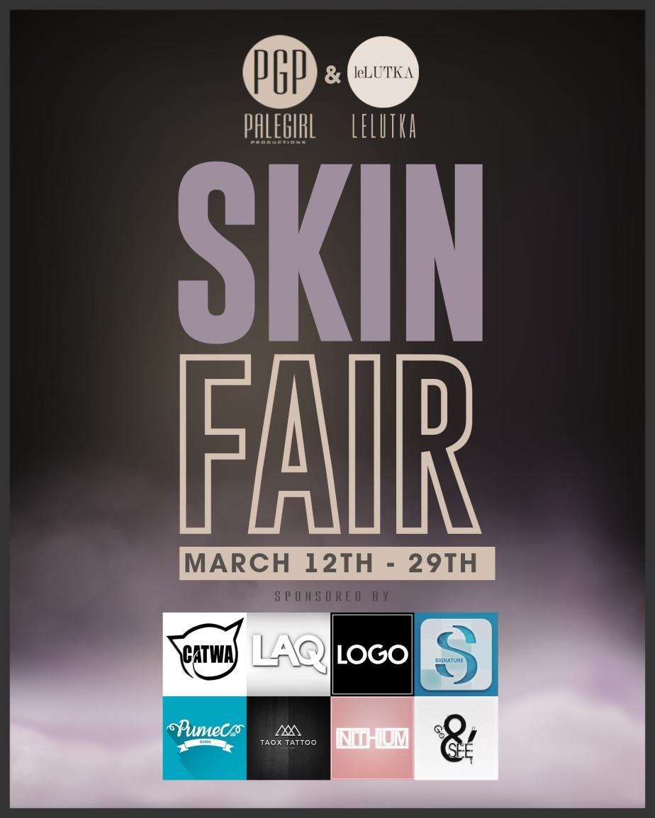Skin Fair 2021 Is At The Halfway Point!!
