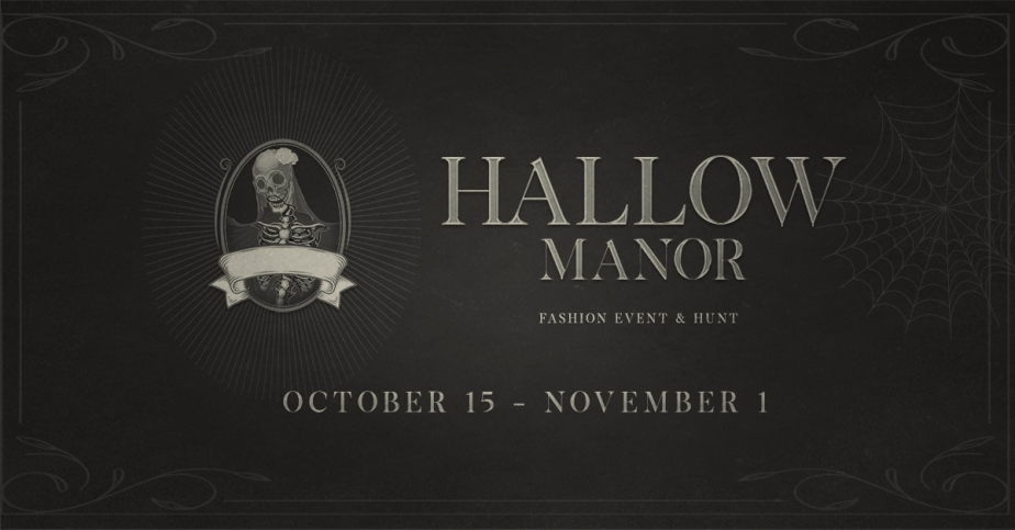 BOO!! HALLOW MANOR – ARE YOUREADY?